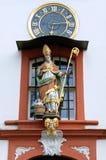 Heiliges Bild von St. Nikolaus Hospital in Bernkastel Stockfoto