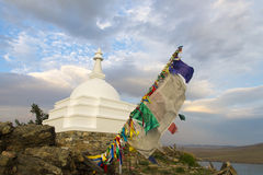 Heiliges buddhistisches stupa Stockfoto