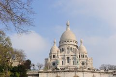 Heiliges Couer, Paris Lizenzfreies Stockfoto