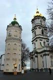 Heiliges Dormition Pochayiv Lavra in Pochayiv, Ukraine Stockfotos