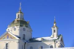 Heiliges Dormition Pochayiv Lavra in Ukraine Lizenzfreie Stockfotos