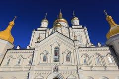 Heiliges Dormition Pochayiv Lavra in Ukraine Stockfotos