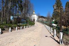Heiliges Dormitions-Pskov-Höhlen-Kloster lizenzfreie stockfotografie