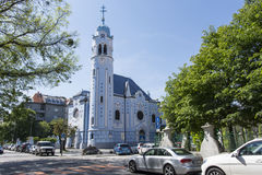 Heiliges Elisabeth-Kirche in Bratislava Lizenzfreie Stockfotos
