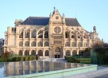 Heiliges-Eustache, Paris lizenzfreie stockbilder