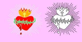 Heiliges Herz Stock Abbildung