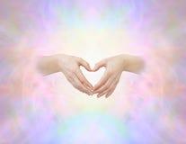Heiliges Herzhandzeichen Lizenzfreie Stockfotografie