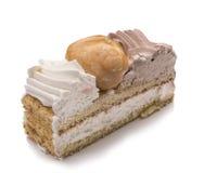 Heiliges honoré Kuchen, Scheibe Stockfoto