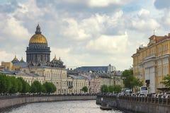 Heiliges Isaac Cathedral Saint Petersburg Russia Lizenzfreie Stockfotos