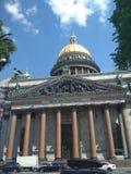 Heiliges Isaac& x27; s-Kathedrale stockbild
