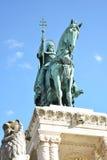 Heiliges Istvan-Monument Stockbilder