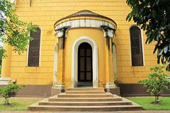 Heiliges Joseph Catholic Church, Ayutthaya, Thailand Lizenzfreies Stockbild