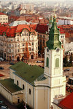 Heiliges Ladislau-Kirche Oradea Stockfotos