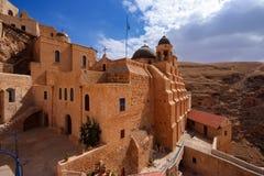 Heiliges Lavra von St. Savas in Jerusalem Lizenzfreie Stockbilder