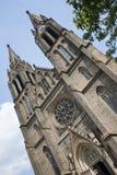 Heiliges Ludmila Kirche, Prag, Tschechische Republik lizenzfreies stockfoto