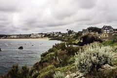 Heiliges Lunaire, Ille-et-Vilaine, Bretagne, Frankreich Lizenzfreies Stockbild