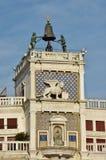 Heiliges Mark Clocktower mit berühmtem macht fest Lizenzfreies Stockbild