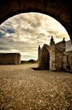 Heiliges Mathieu die Abtei und die Ruinen, Bretagne Lizenzfreies Stockfoto