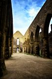 Heiliges Mathieu die Abtei und die Ruinen, Bretagne Lizenzfreies Stockbild