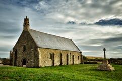 Heiliges Mathieu die Abtei und die Ruinen, Bretagne Lizenzfreie Stockfotografie