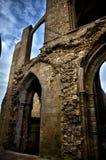 Heiliges Mathieu die Abtei und die Ruinen, Bretagne Stockfoto