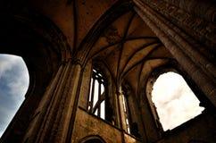 Heiliges Mathieu die Abtei und die Ruinen, Bretagne Stockbilder