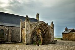 Heiliges Mathieu die Abtei und die Ruinen, Bretagne Lizenzfreie Stockfotos