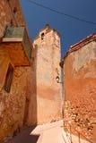 Heiliges Michael Church in Roussillon Stockfotografie