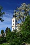 Heiliges Michael Church in Sedlnice Stockfoto