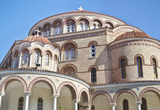 Heiliges Nectarios-Kloster Aegina Griechenland Lizenzfreie Stockfotos