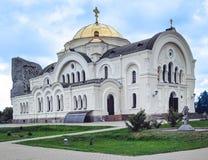 Heiliges-Nikolaevsky garnizon Kirche stockfotos