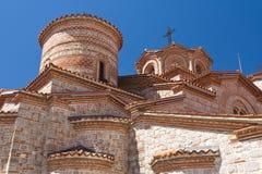 Heiliges Panteleimon Monastery Ohrid - Mazedonien Lizenzfreie Stockbilder