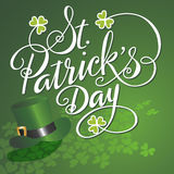 Heiliges Patricks Tag Stockbild
