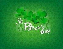 Heiliges Patricks Tageshintergrund Stockfotos