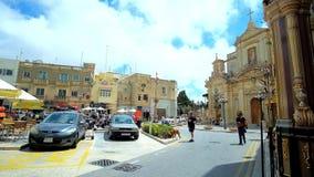 Heiliges Paul Square, Rabat, Malta stock video footage