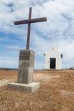 Heiliges Peter Chapel Fernando Noronha Brazil Lizenzfreie Stockfotos
