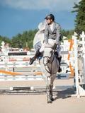 HEILIGES PETERSBURG 5. JULI: Maxim Kryna auf Herausforderer 37 im CS Stockfoto