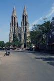 Heiliges Philomena-` s Kirche in Mysore, Karnataka, Indien Lizenzfreies Stockbild