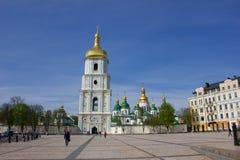 Heiliges-Sophia Kathedrale in Kiew Stockfotografie