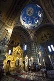 Heiliges Spyridon-Kirche in Triest, Italien stockfotografie