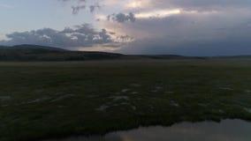 Heiliges Tal des Friedens Ukok stock video