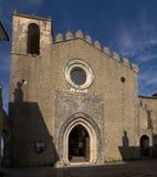 Heiliges Tiago-Kirchenfassade bei Palmela Stockfoto