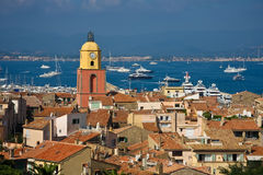Heiliges Tropez Stockfotos