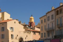 Heiliges Tropez.2 Stockbild