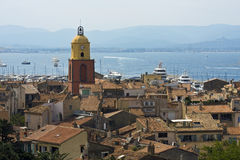 Heiliges Tropez lizenzfreie stockfotos