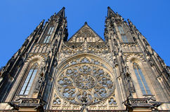 Heiliges Victus-Kathedrale in Prag Stockbild