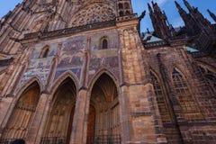 Heiliges Vitus Kathedrale in Prag stockbilder