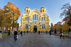 Heiliges Vladimir-Kathedrale in Kiew, Ukraine lizenzfreies stockbild