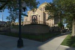 Heiliges Volodymyr und ukrainische katholische Kirche Heiliges Olha im Chic Lizenzfreie Stockbilder
