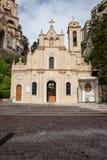 Heiliges widmen sich Kapelle in Monaco Stockbild